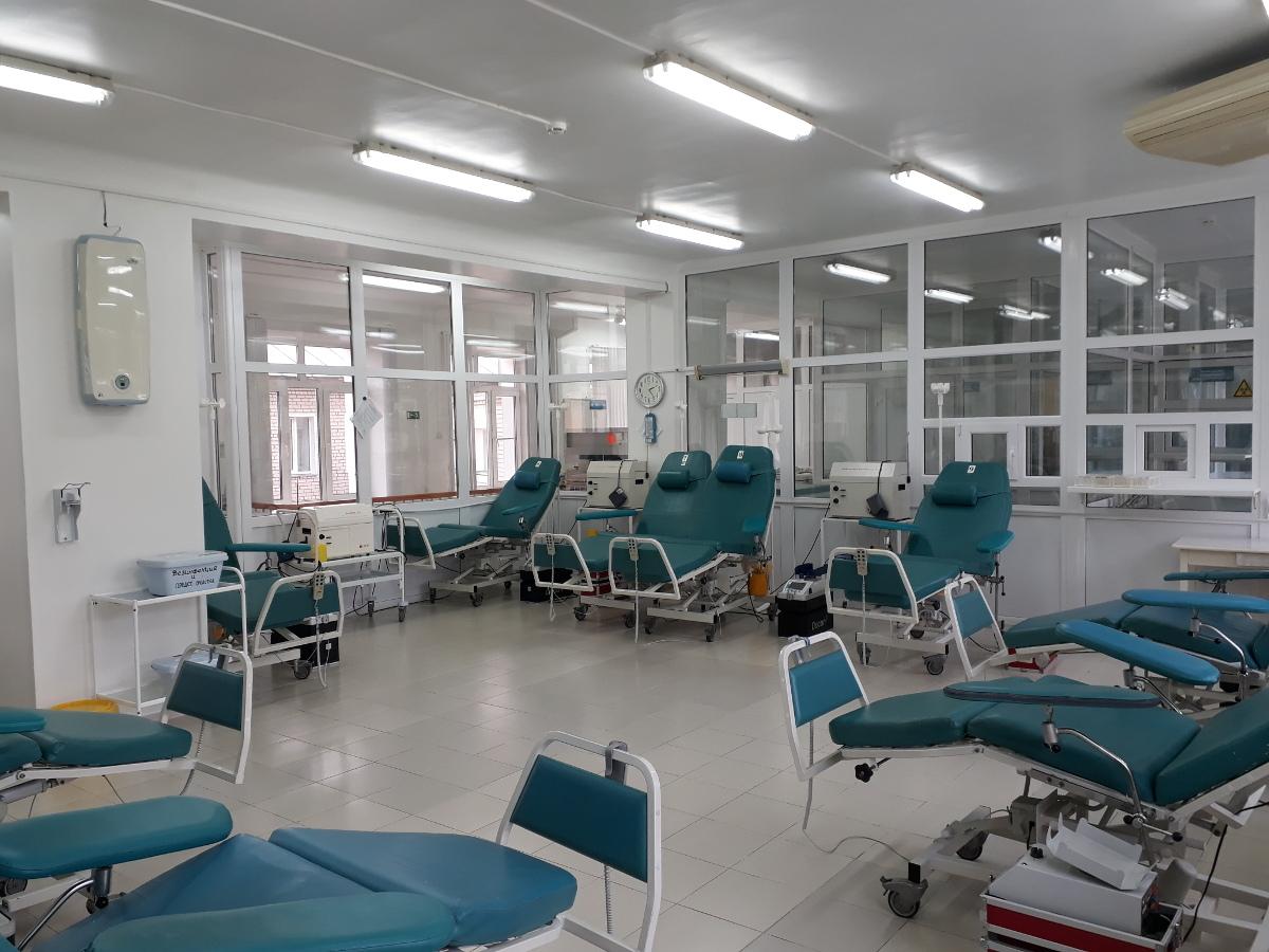 Вы просматриваете фотографии из материала: Открылись обновленные помещения для доноров