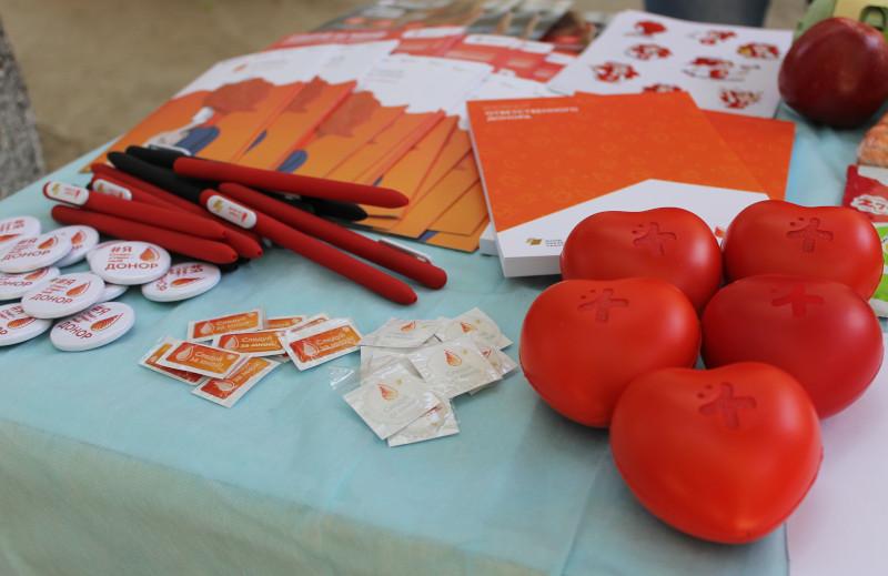 Вы просматриваете фотографии из материала: Первые мероприятия в рамках Всероссийской донорской акции МыВместе